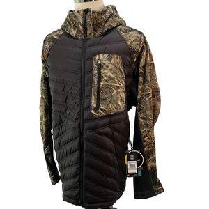 Under Armour Men's Camo Storm Cache Hybrid Jacket